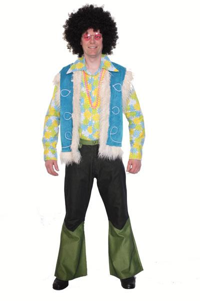 1970s Hippie Man 4 Hire Costume