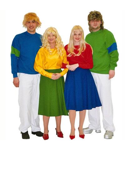 1980s Bucks Fizz Hire Costume
