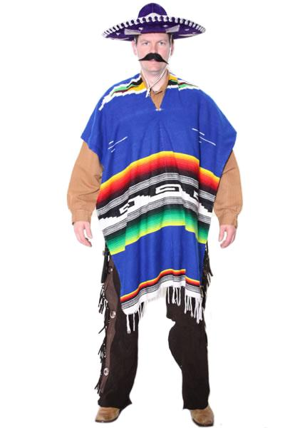 Mexican Blue Hire Costume