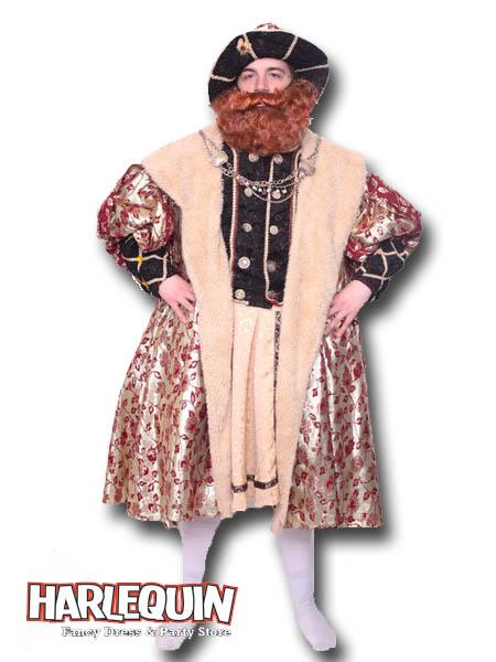 King Henry VIII Hire Costume