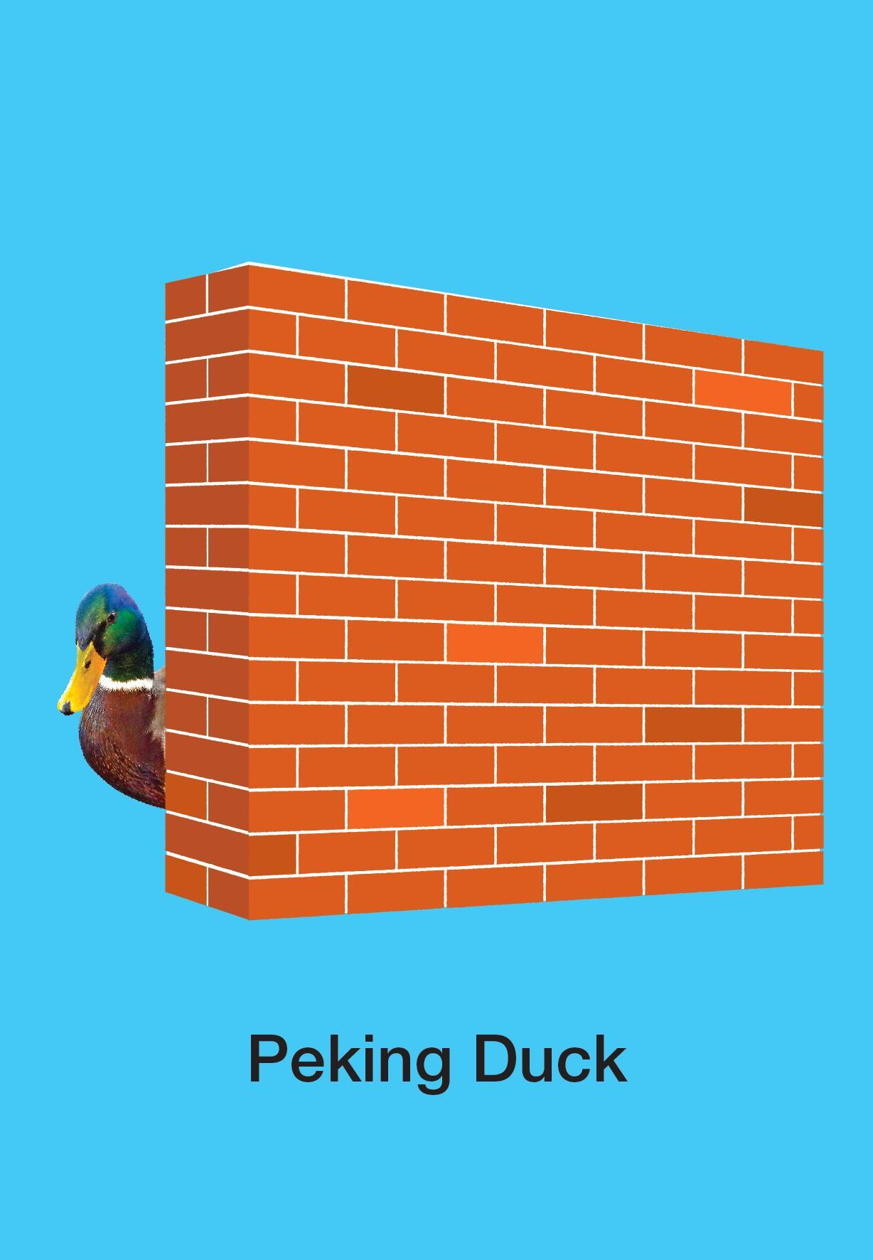 Peking Duck Card