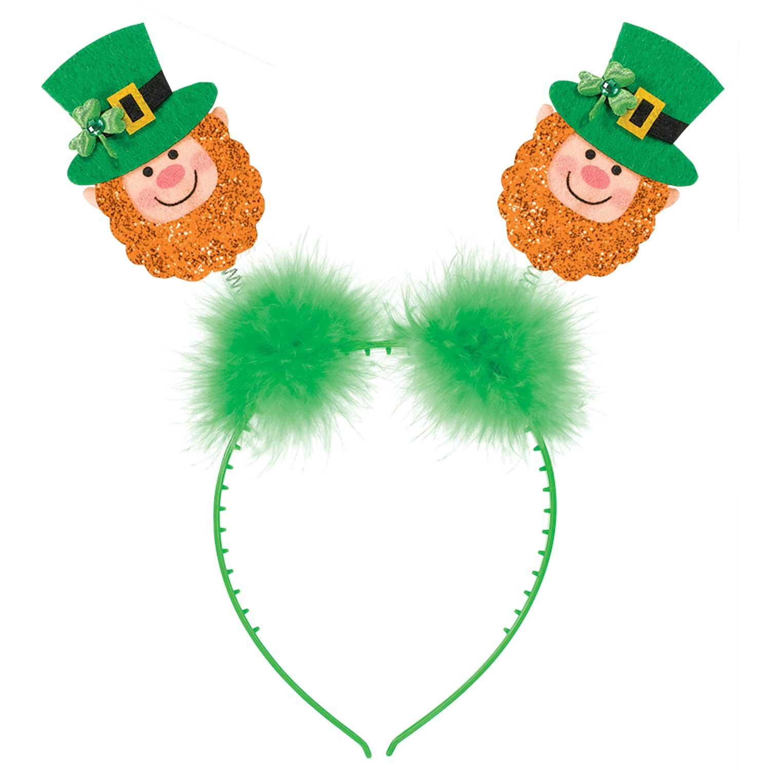 Leprechaun Glitter Head Boppers