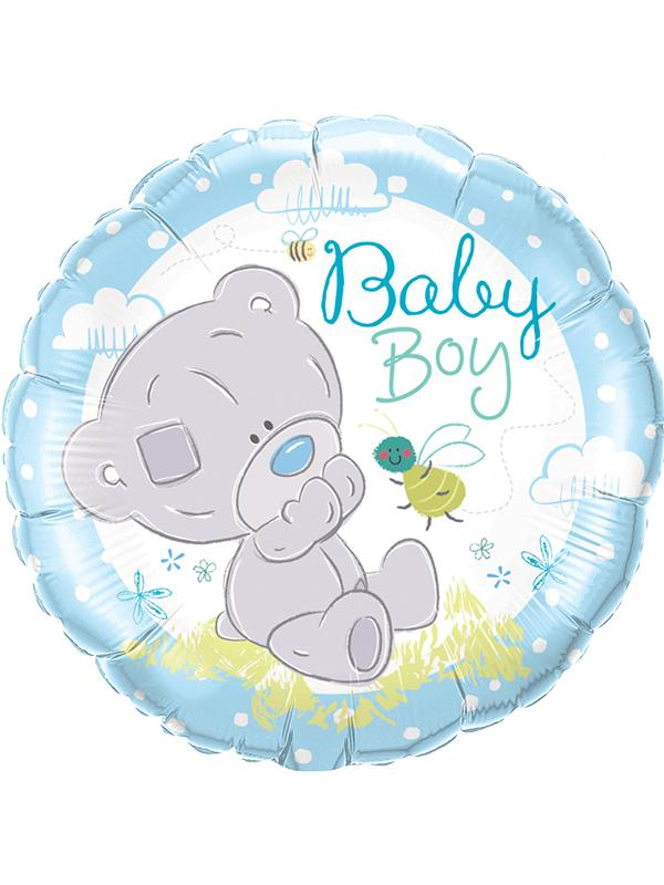 Foil Balloon Tatty Teddy Baby Boy