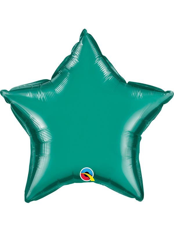 Foil Balloon Star Teal