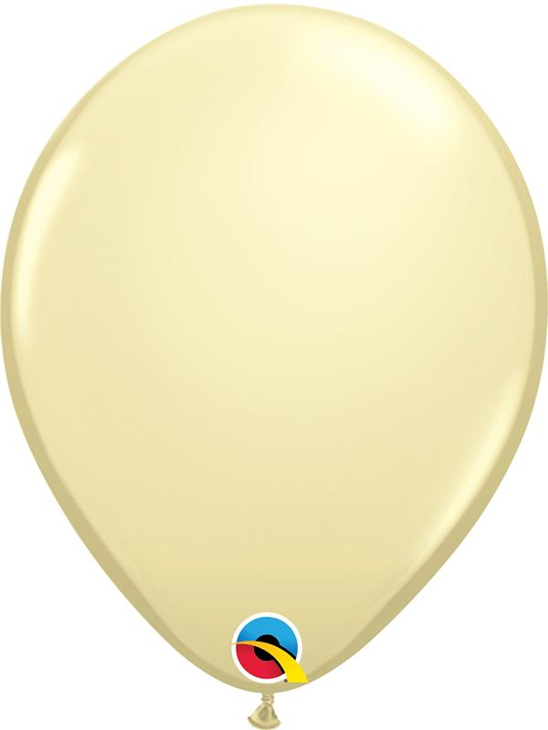 Standard Latex Balloons Ivory