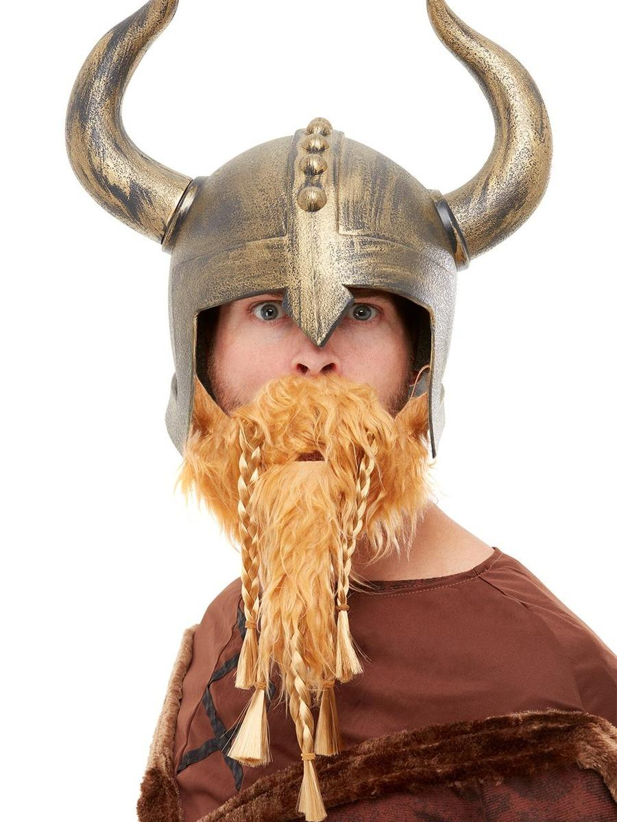 Viking Helmet with Beard