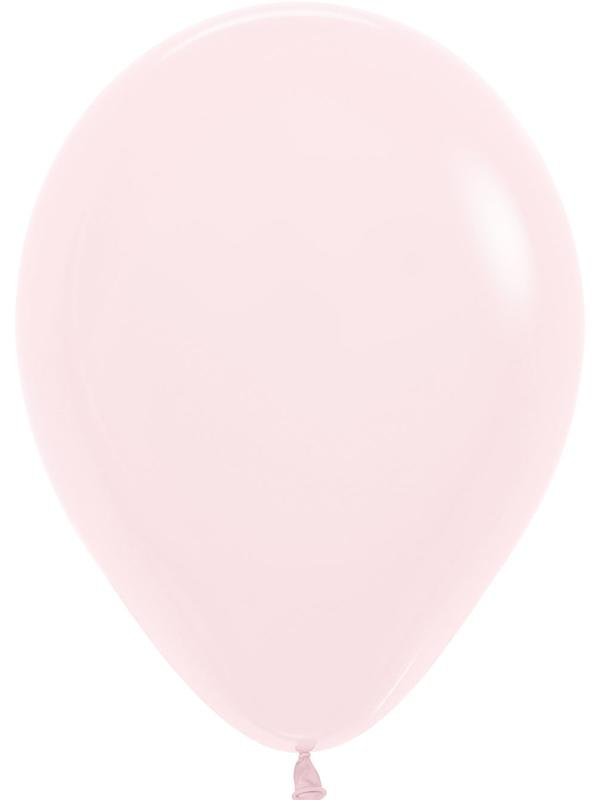 Latex Balloons Pastel Matte Solid Pink