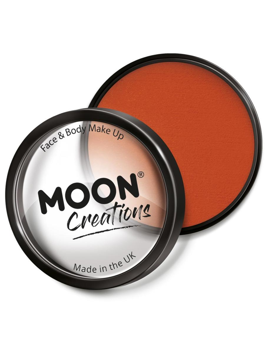 Moon Creations Pro Face Paint Dark Orange