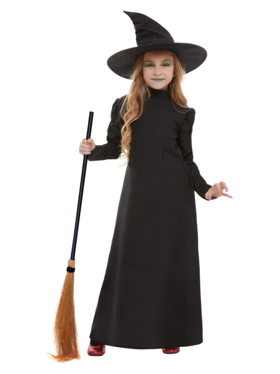 Kids Wicked Witch Costume Black