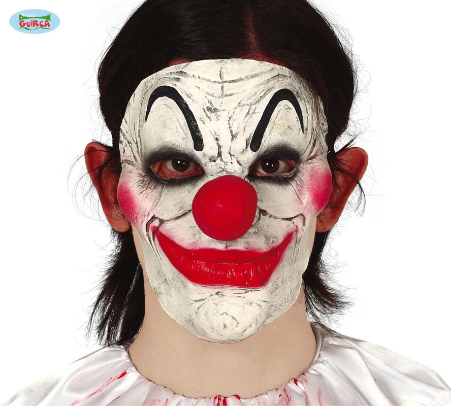 Horror Clown Face Mask