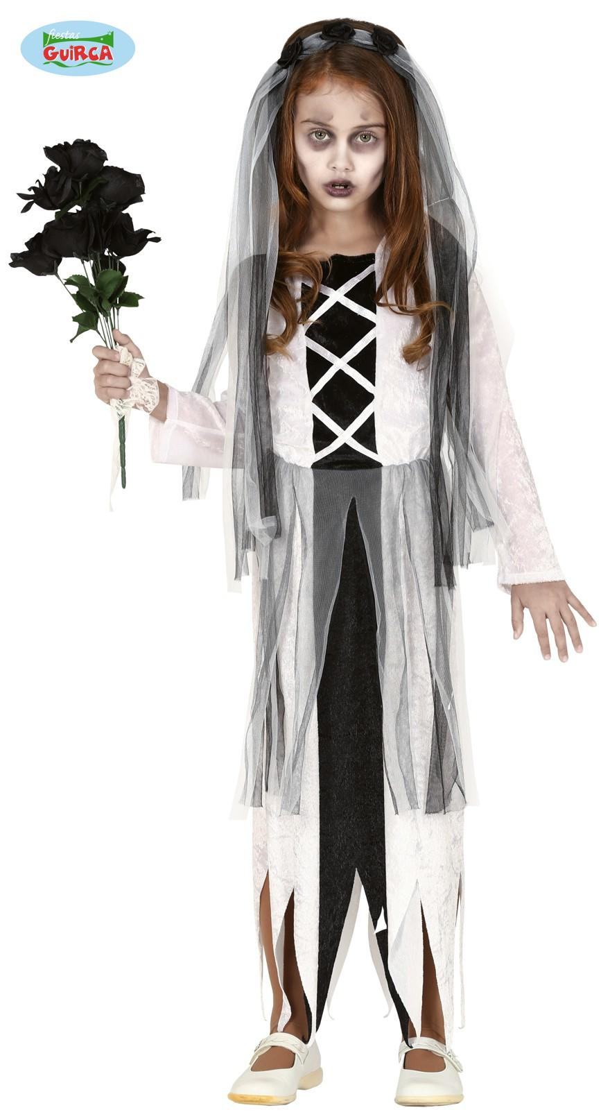 Kids Ghost Bride Costume