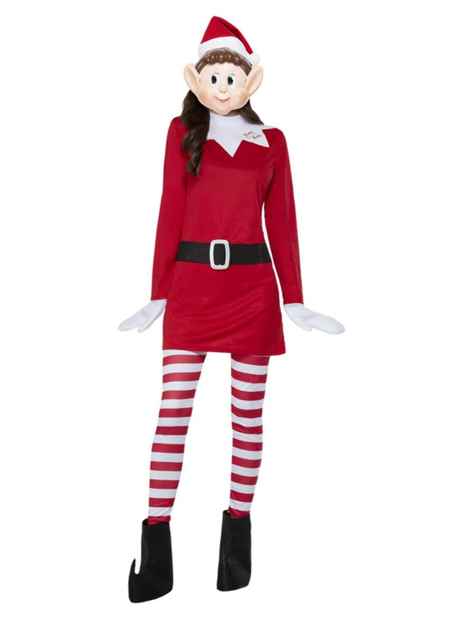 Elves Behaving Badly Ladies Elf Costume