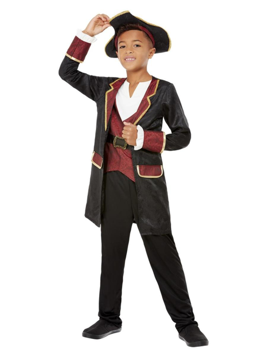 Kids Swashbuckling Pirate Boy Costume