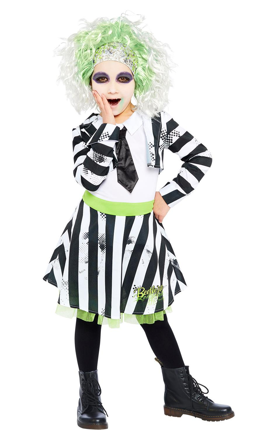 Kids Beetlejuice Dress Costume