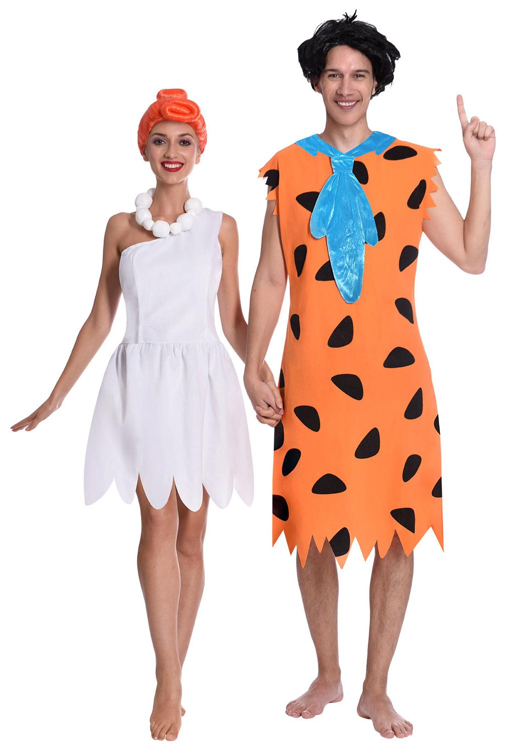Fred & Wilma Flintstone Couples Costume