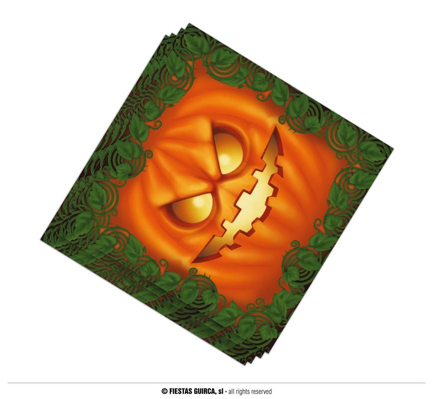 Halloween Pumpkin Paper Napkins pack of 20