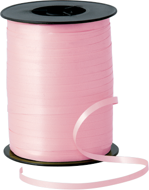 Balloon Curling Ribbon Pink