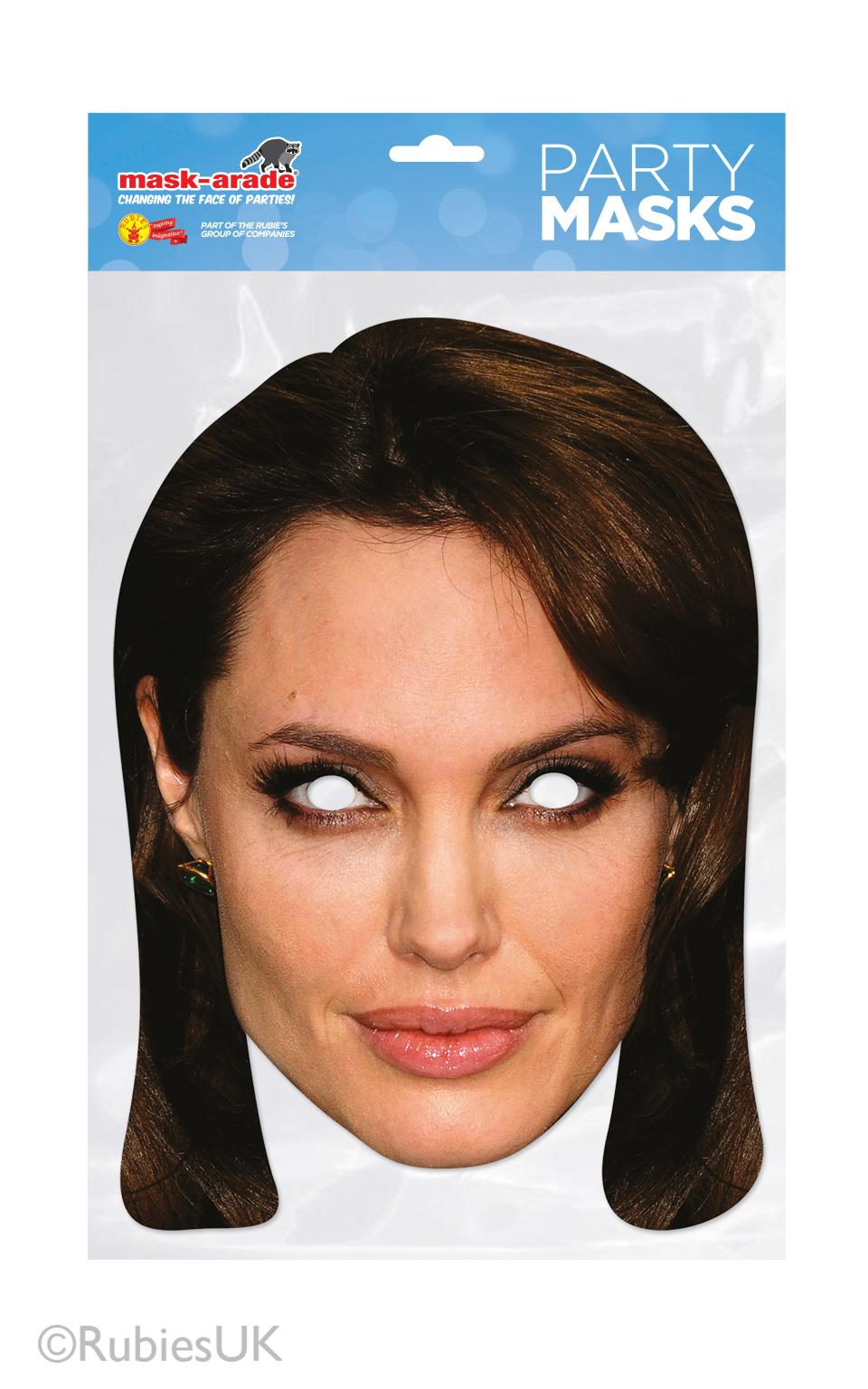 Angelina Jolie Face Mask