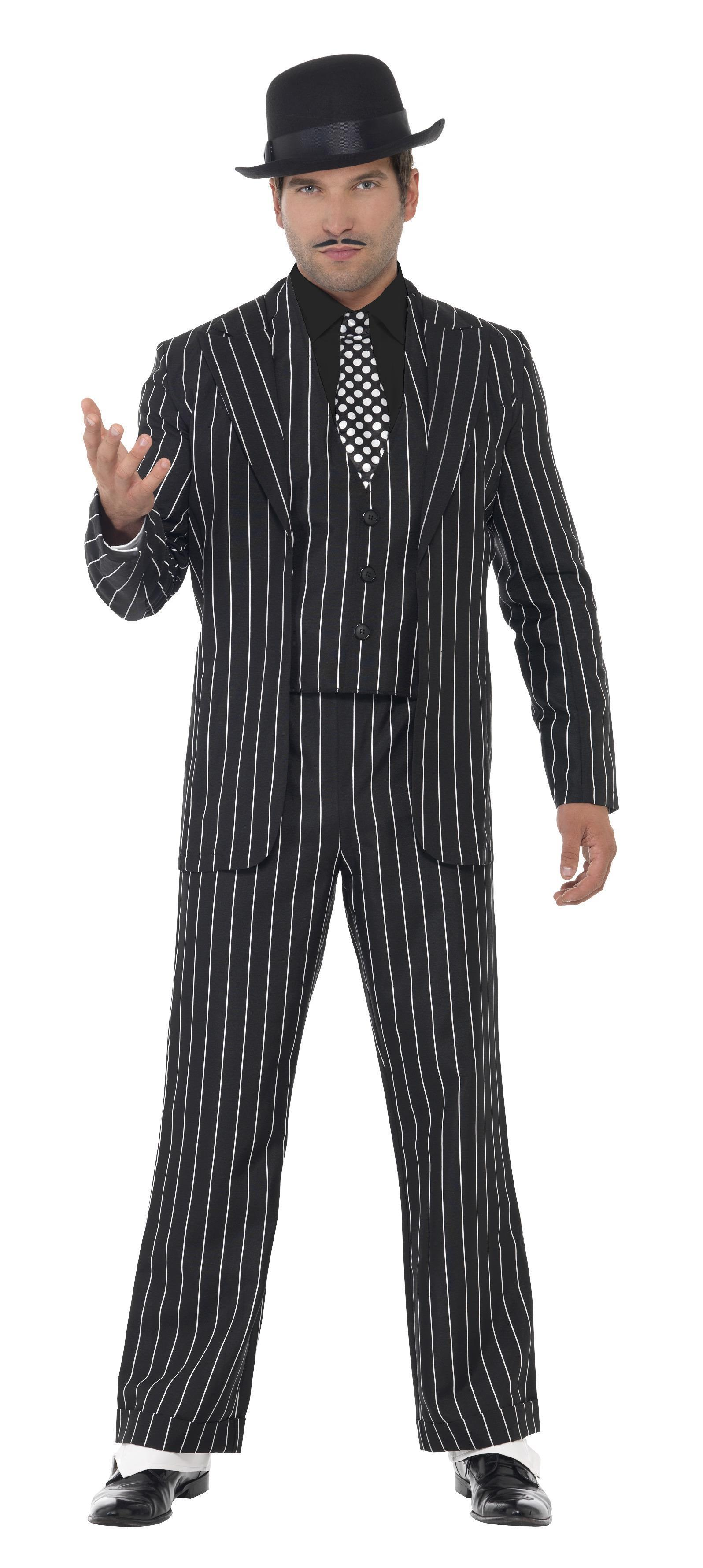 20s Vintage Gangster Boss Costume