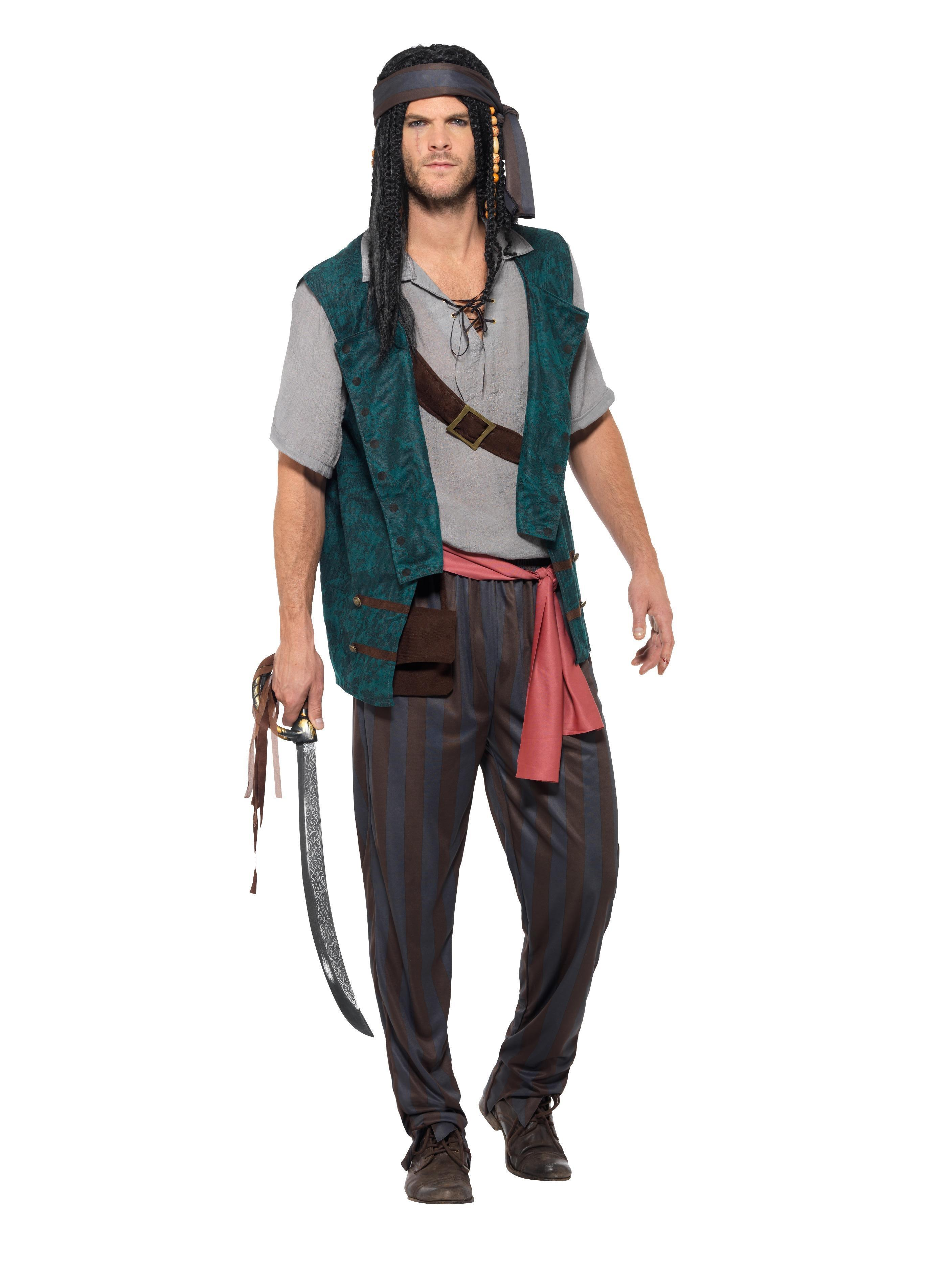 01051caa4 Pirate Deckhand Costume Male