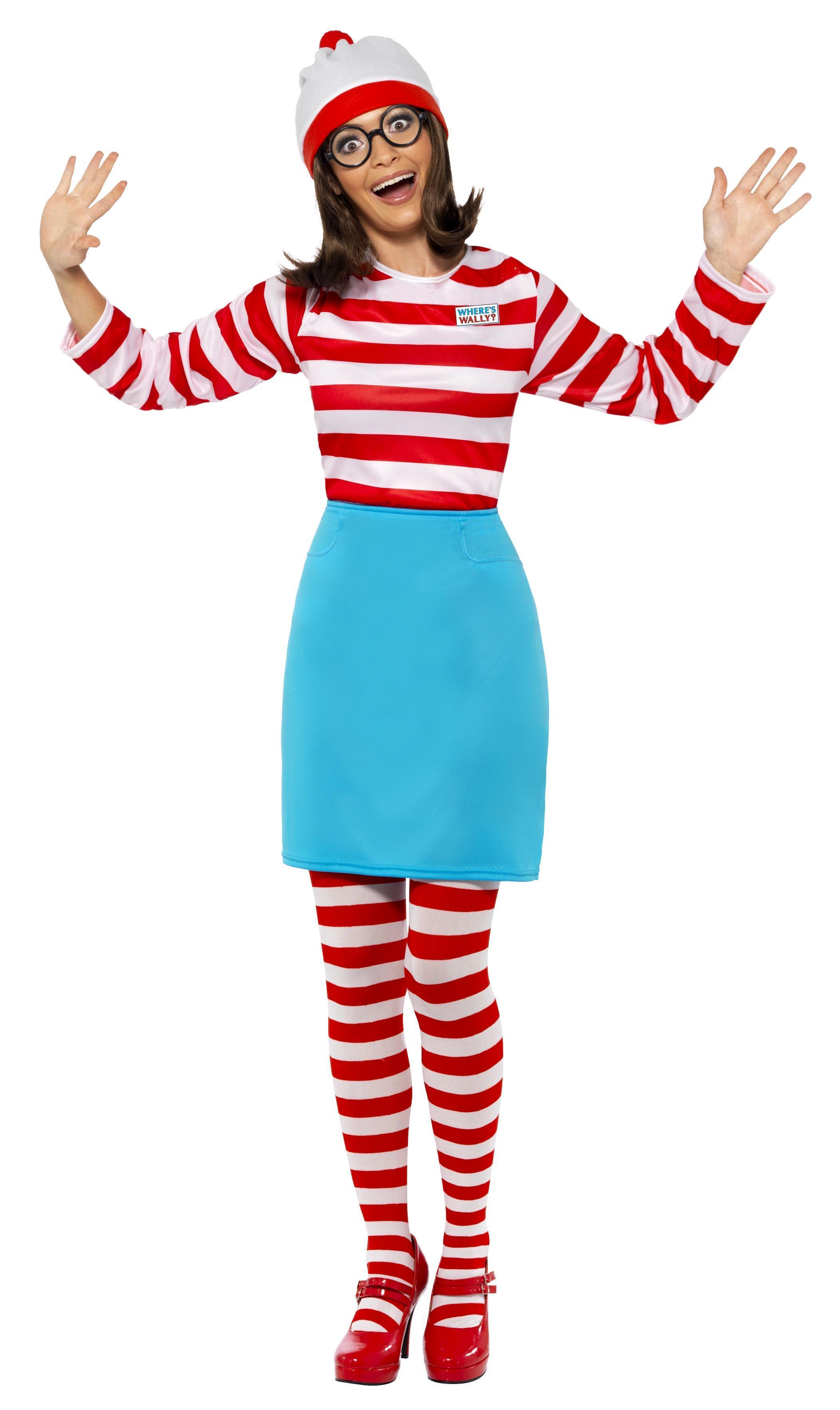 Officially licensed Where's Wally? Wenda Costume