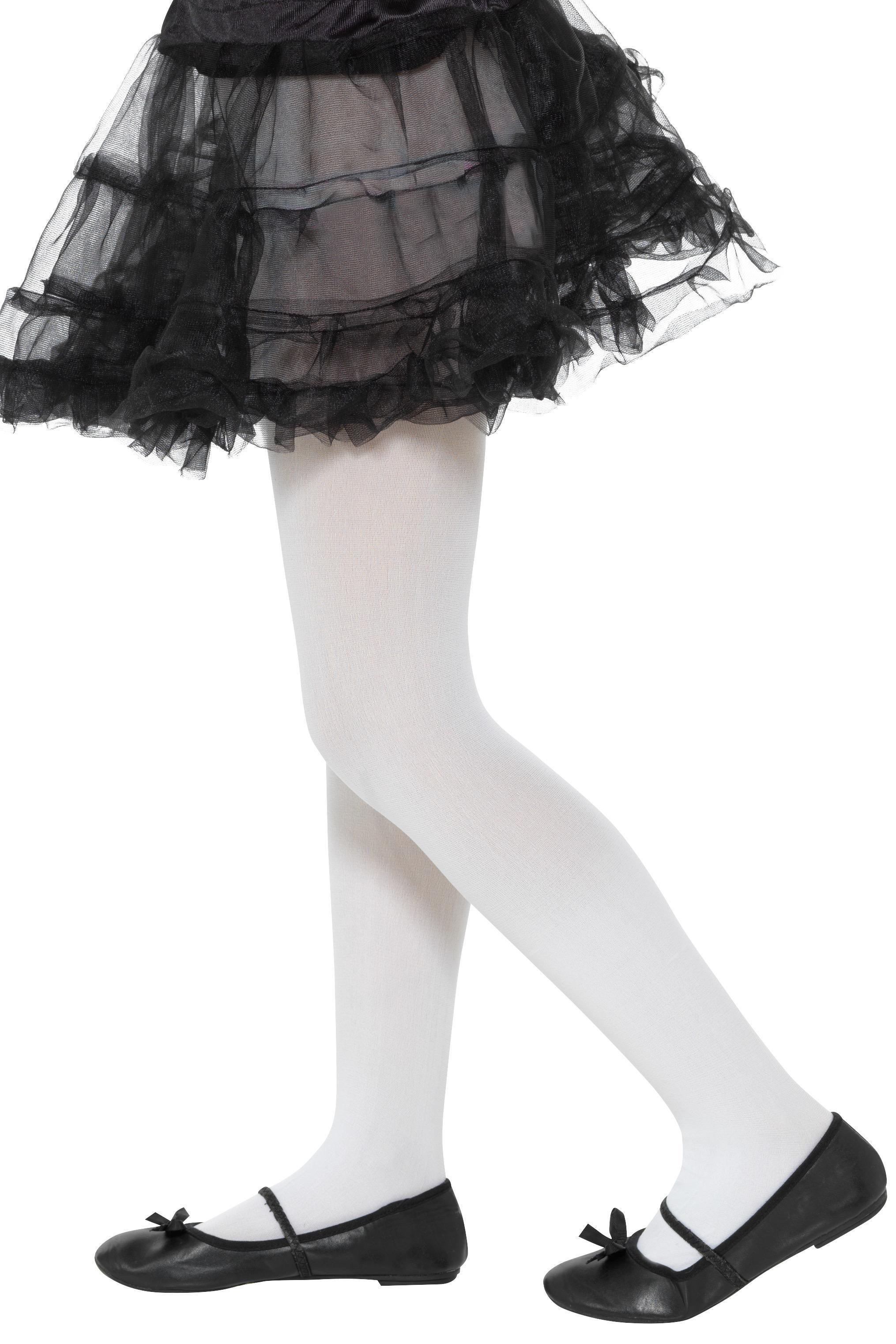 Opaque Tights White Age 6-12
