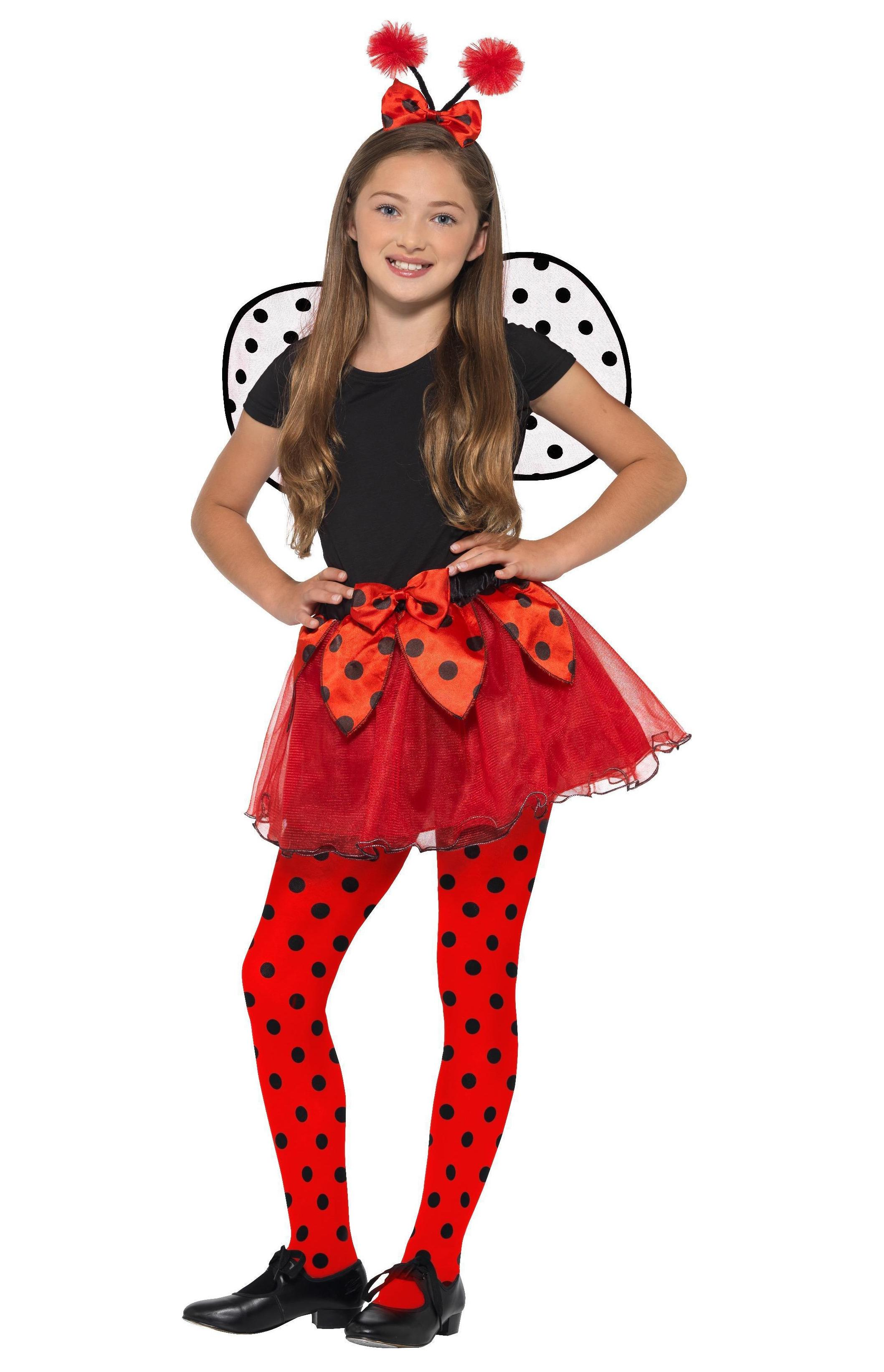 Kids Ladybird Kit Black & Red