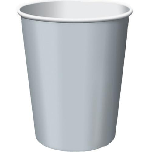 Paper Cups Silver 8 Pack