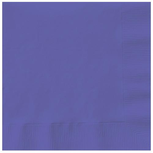 Paper Napkins New Purple 20 Pack