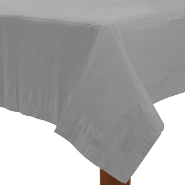 Table Cover Silver Rectangle