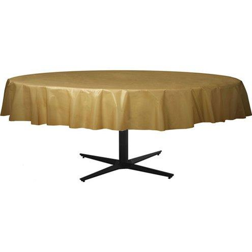Table Cover Gold Round