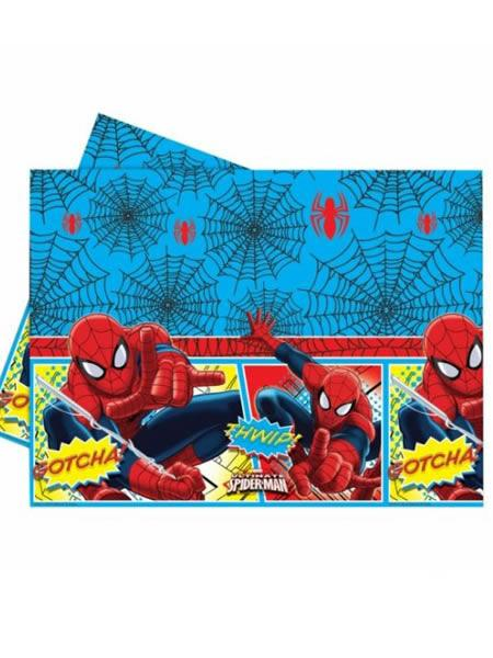 Plastic Table Cover Spider-man
