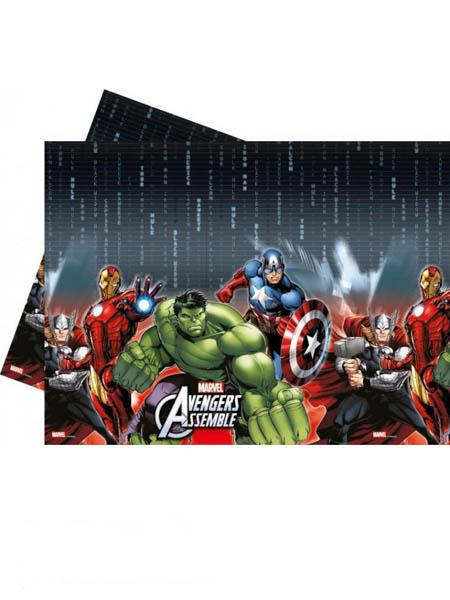 Plastic Table Cover Avengers