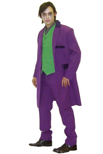 The Joker Style 2 Hire Costume