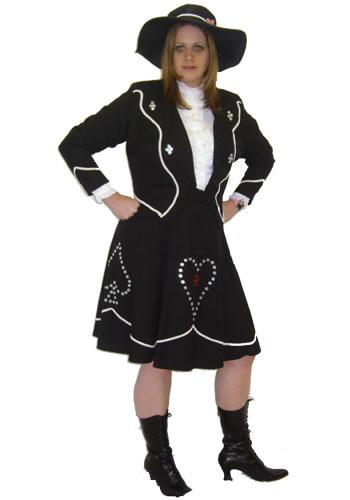 Pearly Queen Hire Costume