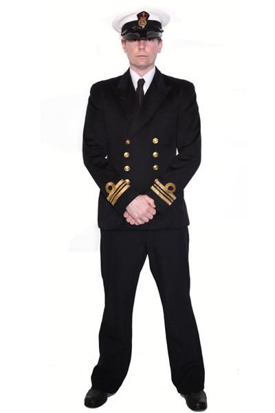 Naval Officer Hire Costume