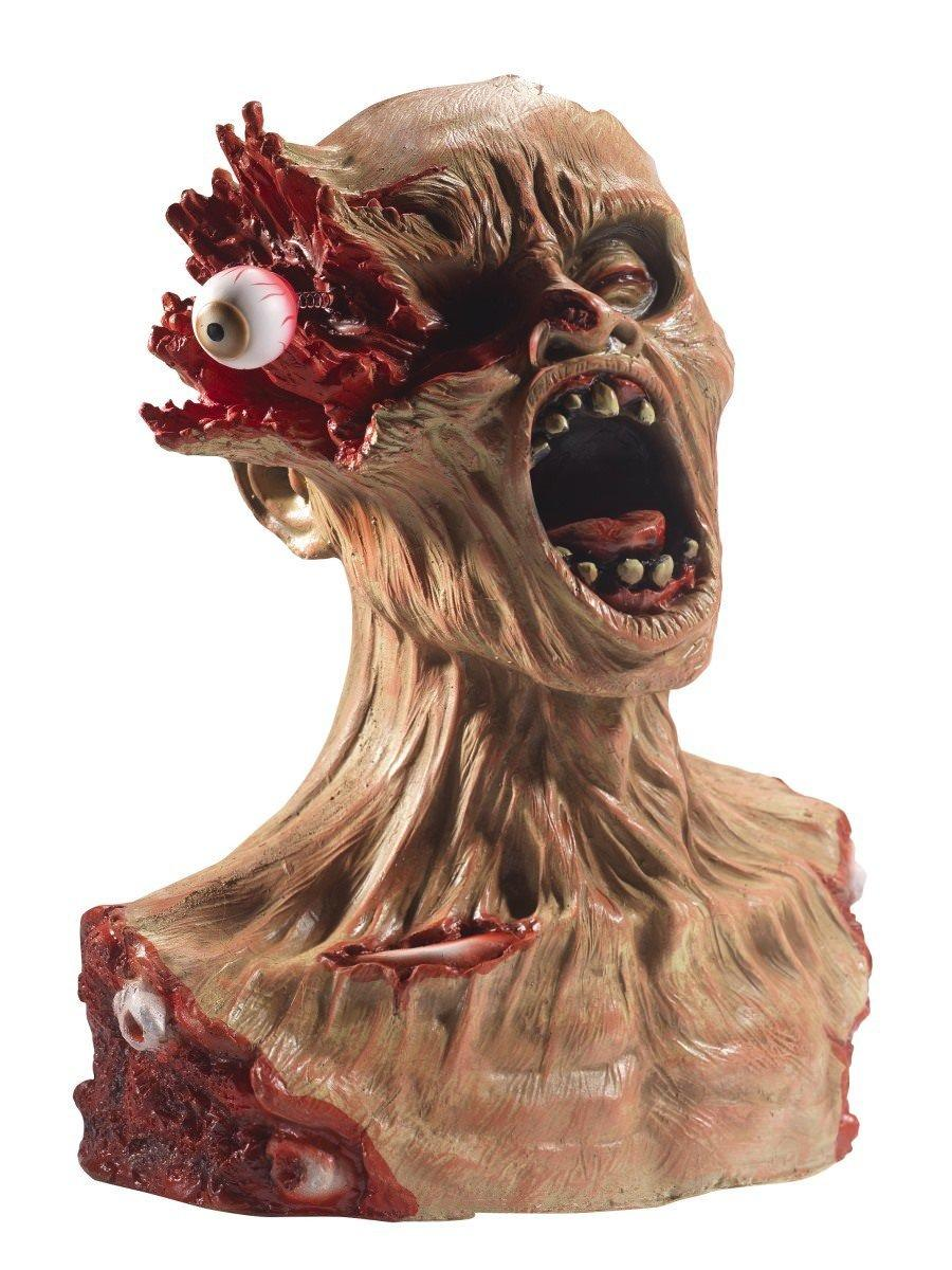 Exploding Eye Zombie Bust Prop