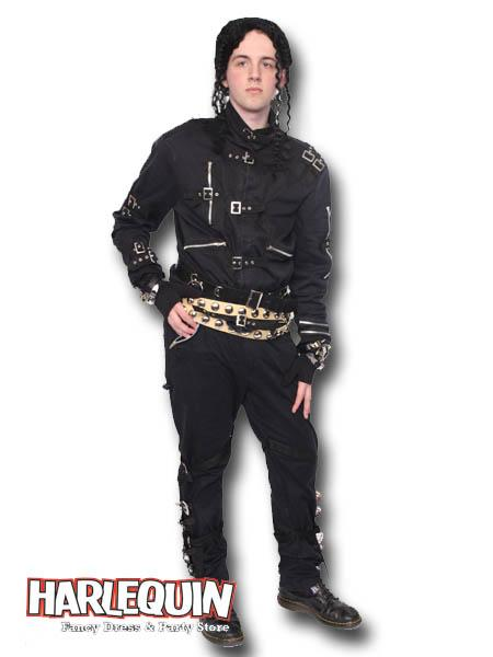 1980s Michael Jackson BAD Hire Costume