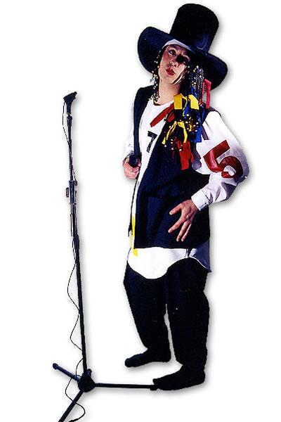 1980s Boy George Hire Costume
