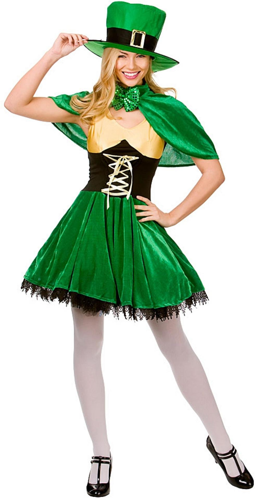 Lucky Leprechaun Lady Costume