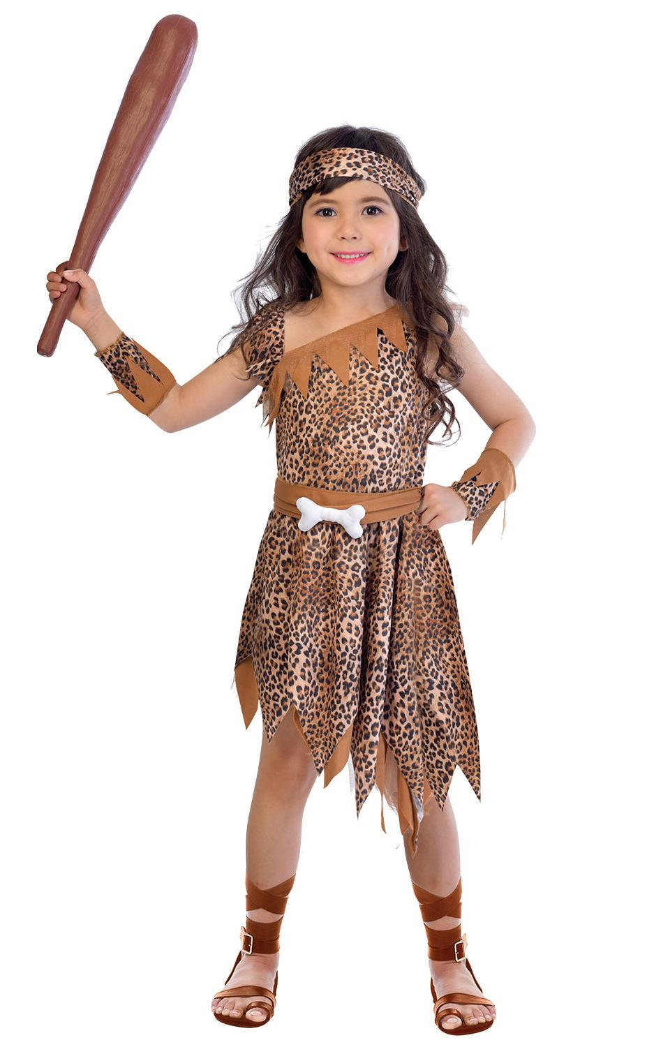 Kids Cavegirl Costume
