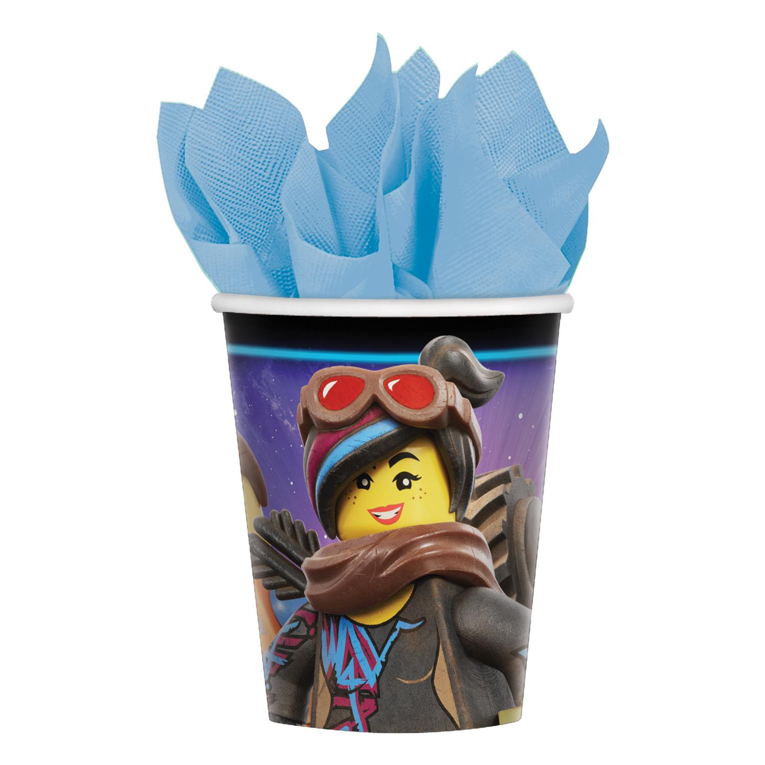 Paper Cups Lego Movie 2