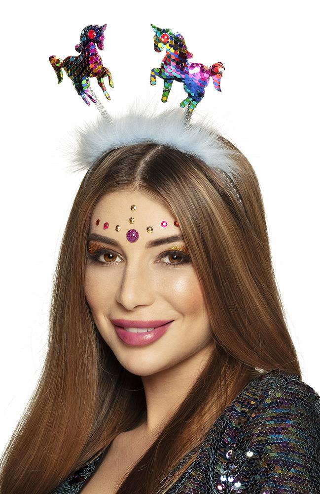 Unicorn Glitter Head Boppers