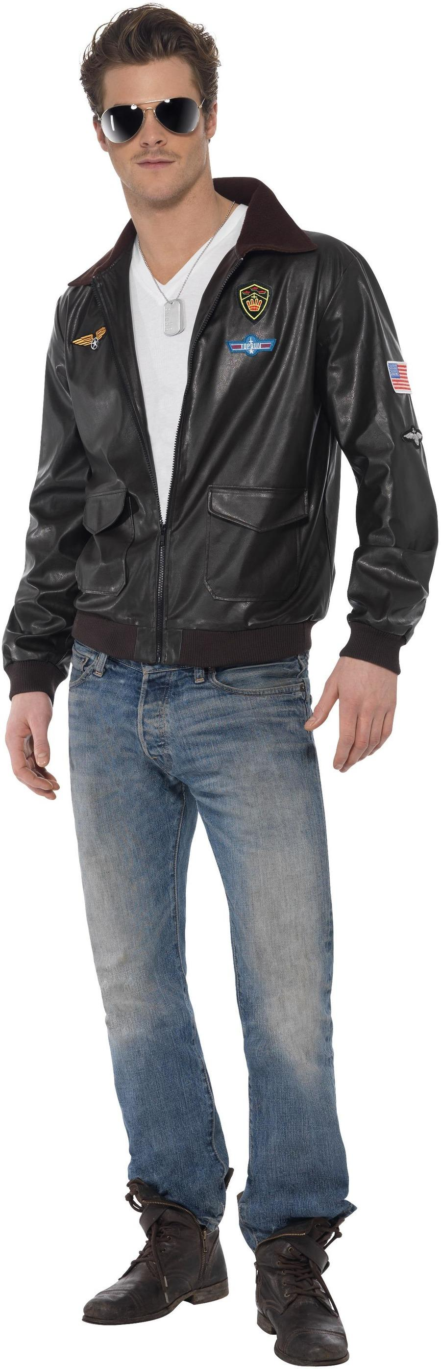 Top Gun Bomber Jacket Brown