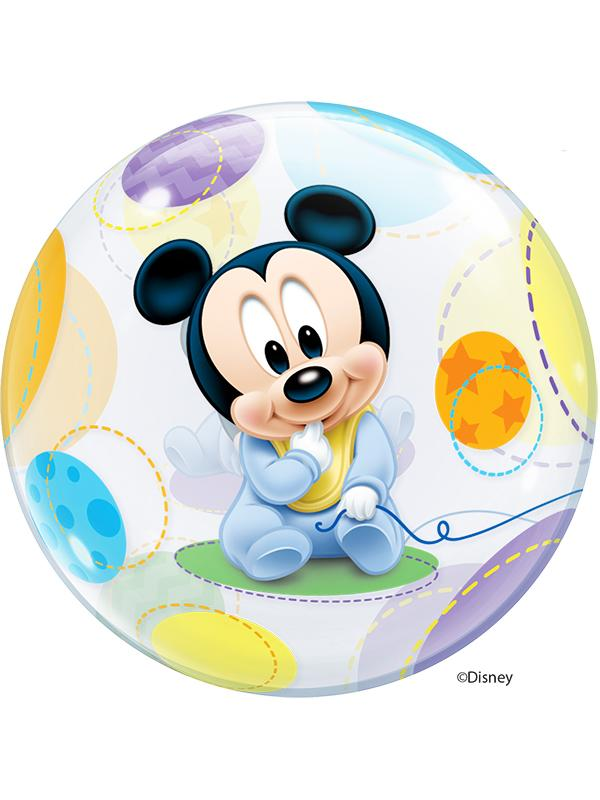 Bubble Balloon Baby Mickey Mouse
