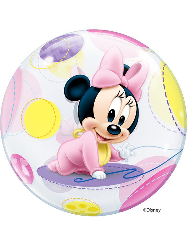 Bubble Balloon Baby Minnie Mouse