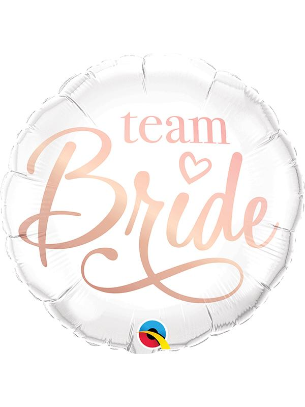 Foil Balloon Team Bride