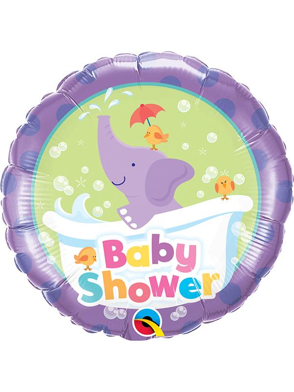 Foil Balloon Baby Shower Elephant