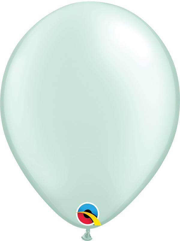 Pearl Latex Balloons Mint Green