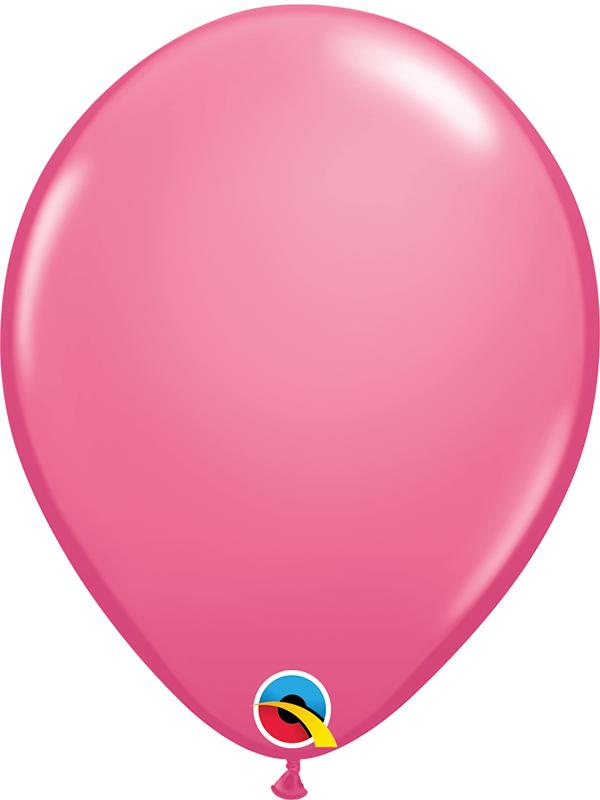 Standard Latex Balloons Rose Pink